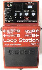 Boss RC-3 Loop Station Guitar Pedal!