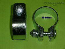 Auspuffschelle 50 x 125 mm Doppelschelle Rohrverbinder Rohrschelle universal