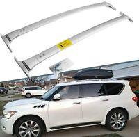 Silver Roof Rails Rack Crossbar Bar Fit INFINITI QX56 QX80 G3805-1LA0A