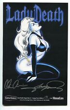 Lady Death Dragon Wars #1 George Perez Variant Cover Double Signed Perez Pulido