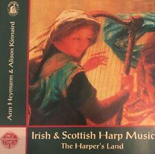 Ann Heymann/Alison Kinnaird Harper's Land Music for the Irish & Scottish Harp CD