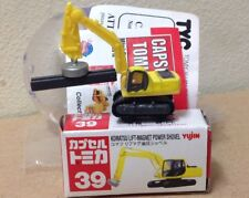 Capsule Tomica ConstructIon 39 Komatsu Lift Magnet Power Shovel 2006 series 12