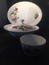 Vintage H Aynsley & Co Staffordshire England Tauren Bowl Plate
