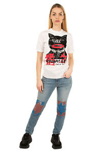 RRP €175 DSQUARED2 T-shirt Top Size M Coated Year Of The Pig Made in Italy