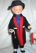 Vintage German Celluloid Black Forest Doll MOLL'S TRACHTEN-PUPPEN