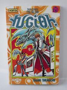 Manga Yu Gi Oh Kana Version French Tome 21 Occasion Book Shönen Takahashi