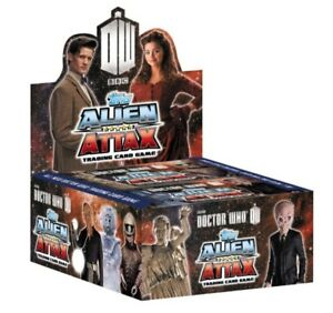 TOPPS DOCTOR WHO ALIEN ATTAX single trading cards