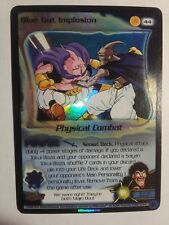 Dragon Ball Z Score CCG TCG Blue Gut Implosion Foil DBZ 44