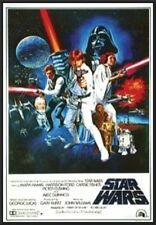 Star Wars Style C Dry Mount Poster Framed