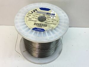 (5,200ft+ 3.0lb Roll) Nichrome Resistance Wire 27-Guage N6 Alloy 3.3420Ohms/ft