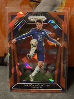 2020-21 Panini Prizm EPL - Mason Mount - Chelsea Prizm Red Cracked Ice Prizm SP