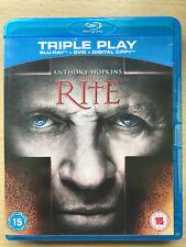 Anthony Hopkins THE RITE ~ 2011 Demonic Possession Horror UK Blu-ray