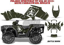 AMR Racing DECORO GRAPHIC KIT ATV POLARIS SPORTSMAN modelli Battle Born B