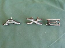 NOS 1967 Ford Galaxie Letters A-X-E FoMoCo 67