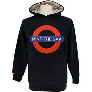 London Underground Official, Mind The Gap Hoodie  (LARGE)   (gwc)