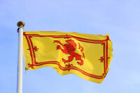 SCOTLAND 3FT x 2FT LION RAMPANT FLAG SCOT SCOTTISH SPORT YES COLLECTABLE