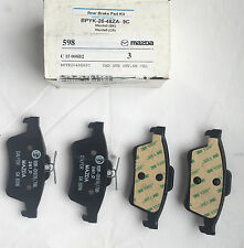NEW GENUINE MAZDA 3 REAR BRAKE PAD SET BPYK2648ZA9C (Our Ref: MBP3)