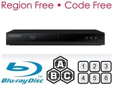 Samsung BD-J4500R Multi Region All Zone Blu-ray & DVD Player Code Free  A B C