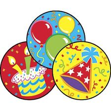 Big Birthday/Frosting Stinky Stickers® – Large Round Trend Enterprises Inc. T-83