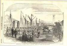 1854 Wise Bidding Farewell French Troops English Vessels Sebastopol Engagement