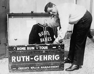 "1927 Bustin Babes BABE RUTH Glossy 8""x10"" Photo Home Run Tour Print Poster"