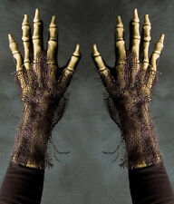 Rotting Skeleton Death Undead Zombie Hands Scary Adult Halloween Costume Gloves