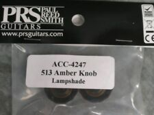NEW PRS AMBER LAMPSHADE KNOBS VOLUME TONE S2 CE CUSTOM SINGLECUT PAUL REED SMITH