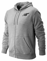 New Balance Men's Numeric Full Zip Hoodie Grey