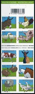 [PG20336] Belgium 2006 : Farm Animals - Good Very Fine Adhesive Complete Booklet