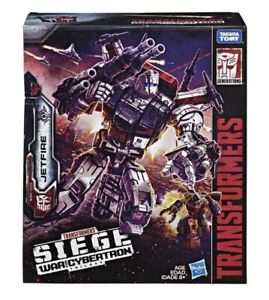Transformers Generations War for Cybertron Siege Commander Class JETFIRE In Hand