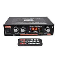 Universal G30 HIFI Bluetooth Car Audio Power Amplifier FM Support Player R3N8