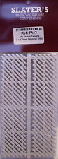 Slaters 7A13 - MR Station Fencing 8 x 130mm White Plastic Kit 0 Gauge - 1st Post