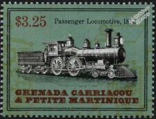 New York Central (NYC) & Hudson River Railroad 1885 4-4-0 Train Locomotive Stamp