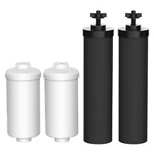 Aquacrest Filters Replacements For Black Berkey Bb9-2 & Fluoride  00004000 Filters Pf-2