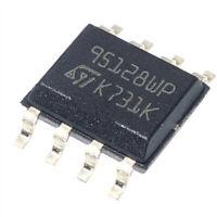 5 x 95128WP 128 Kbit Serial SPI bus EEPROM M95128-WMN6TP SOP8