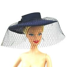 Barbie Fashion Wide Brim Hat with Mesh Spring in Tokyo New