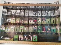 Certificate of Authenticity Champions Of Golf Master's Collection Uncut 26x35