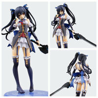 Choujigen Game Neptune Noire Black Heart Doll PVC Action Figure Model Toy 21cm