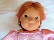 "RARE KATHE KRUSE VINTAGE GIRL  ""VICKY""    DOLL   10""  MADE  IN GERMANY  1980'S"