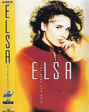 Elsa Rien Que Pour Ça ... CASSETTE ALBUM Chanson, Pop Rock, Synth-pop, Ballad