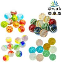 10 x Handmade Marbles Art Glass, more Style Kids Toys Vintage Traditional Games