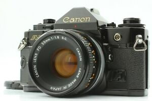 [ Exc ] Canon A-1 35mm Film Camera w/ FD 50mm f1.8 S.C. SC Lens From Japan