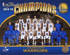 Golden State Warriors 2014-2015 & 2017 NBA Champions Team 8x10 Photos