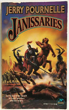 Janissaries by Jerry Pournelle PB 1st Baen Printing 1996 Rare Cover  B