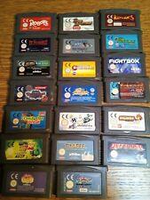 Game Boy Advance  SPielesammlung  20 Spiele