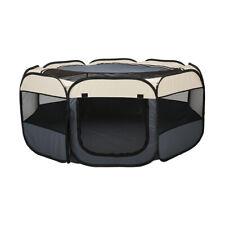 Portable 8 Panel Puppy Play Pen Enclousure 61 x 61 CM Animal Dog Indoor Outdoor