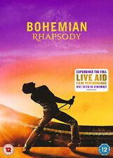 Bohemian Rhapsody [2018] Queen (DVD) Rami Malek, Lucy Boynton, Gwilym Lee