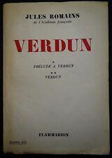 ROMAINS: Prélude à Verdun - Verdun / Guerre 14-18 / 1956