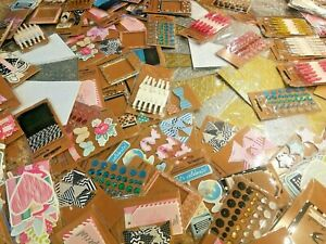 528 Packages WHOLESALE Scrapbooking Embellishments Pegs Stickers Craft HUGE Lot