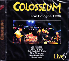 COLOSSEUM live cologne 1994 CD NEU OVP/Sealed